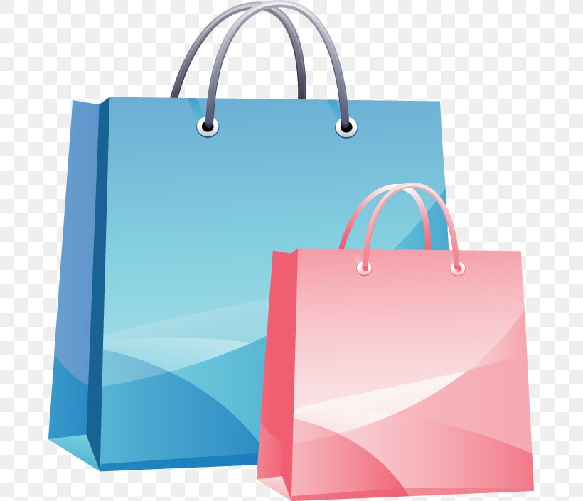 Shopping Bag Clip Art, PNG, 683x705px, Shopping Bags Trolleys, Azure, Bag, Blue, Brand Download Free