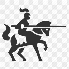 Vector Icon Warrior - Middle Ages Knight Archery PNG