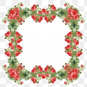 Picture - Picture Frames Flower Clip Art PNG