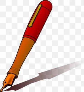 Ink Cliparts - Paper Ballpoint Pen Free Content Clip Art PNG