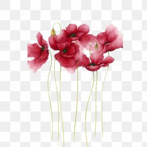Watercolor Flowers - Watercolor Painting Flower Drawing Art PNG
