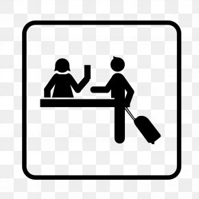 Hotel - Hotel Check-in Clip Art PNG
