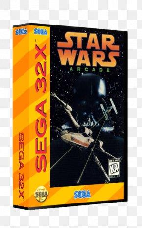 Star Wars Computer And Video Games - Star Wars Arcade 32X Star Wars Trilogy Arcade Sega CD PNG