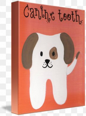 Canine Tooth - Dog Canidae Gallery Wrap Canvas Canine Tooth PNG