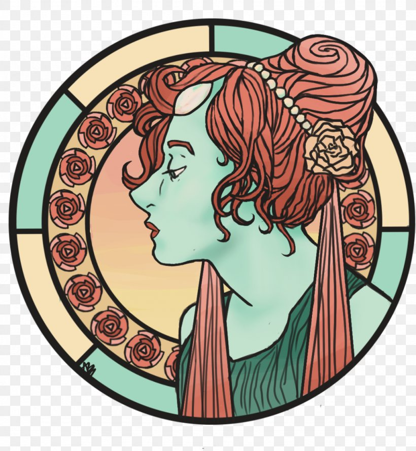 Pearl Art Nouveau Drawing Work Of Art Png 1024x1111px