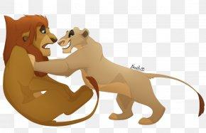 Lion - Lion Art Big Cat PNG
