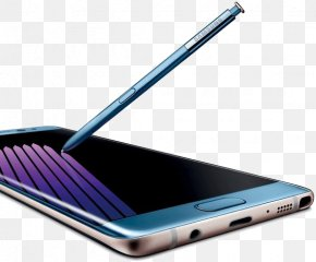 Samsung Note7 - Samsung Galaxy Note 7 Samsung Galaxy Note 5 Blue Coral Color PNG