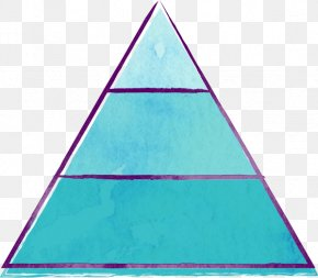Vibrant Flame - Turquoise Blue Green Teal Triangle PNG