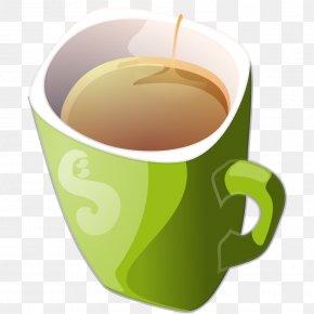 Green Tea - Green Tea Coffee Teacup Clip Art PNG