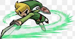 The Legend Of Zelda - The Legend Of Zelda: The Wind Waker The Legend Of Zelda: Four Swords Adventures The Legend Of Zelda: The Minish Cap The Legend Of Zelda: A Link To The Past And Four Swords Super Smash Bros. Brawl PNG