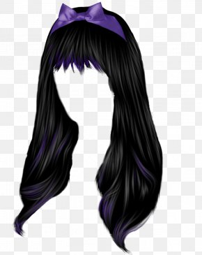 Women Hair Image - Black Hair Hair Coloring Hairstyle Long Hair PNG