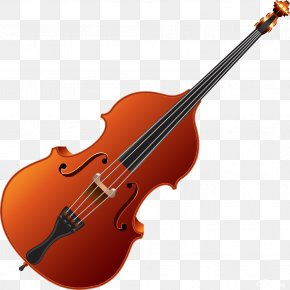 Musical Instruments - Cello Musical Instruments Violin Double Bass PNG