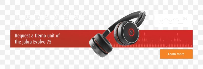 Headphones Gn Group Jabra Evolve 75 Mississippi Png 1180x401px Headphones Audio Audio Equipment Brand Headset Download