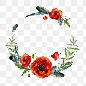 Flower Garlands - Wreath Flower Stock Illustration Illustration PNG