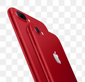 Red Apple 7 Phone - IPhone 6S IPhone SE IPhone 7 Plus Product Red Apple PNG