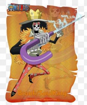 Brook One Piece - Monkey D. Luffy Gol D. Roger Roronoa Zoro Monkey D. Garp Usopp PNG