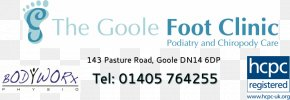 Podiatry And Chiropody Care Logo Brand OrganizationChiropody Session - Podiatrist The Goole Foot Clinic PNG