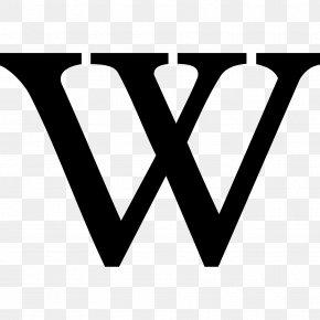 W - Wikipedia Logo Wikimedia Project Wikimedia Commons PNG