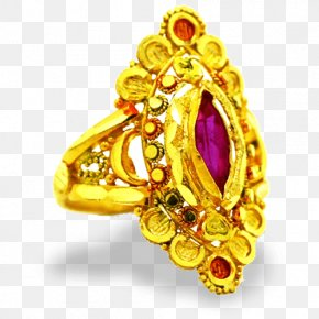 Ruby - Ruby Ring Gold Jewellery Kumauni People PNG