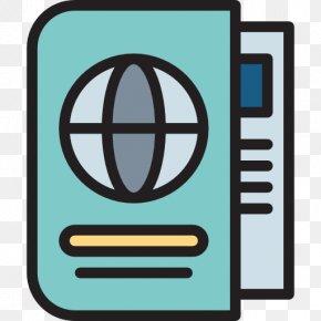 Passport Icon - Art Drawing Illustrator PNG