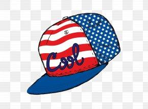 Vector Blue Star Baseball Cap - Baseball Cap Hat Stock Photography PNG