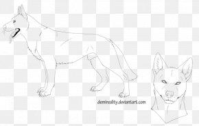 Dog - Dog Breed Line Art Cartoon Sketch PNG