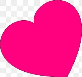 Pink Love Heart - Heart Free Clip Art PNG