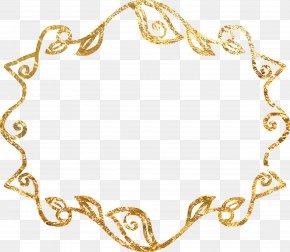 Material Gold Border - Gold Material Euclidean Vector Gratis PNG