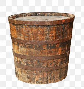 Make Old Wooden Buckets - Barrel Bucket Stock Photography PNG