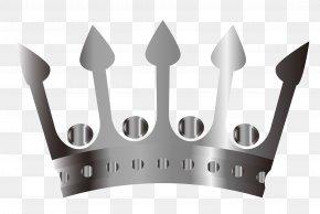 Vector Crown - Euclidean Vector Silver Computer File PNG