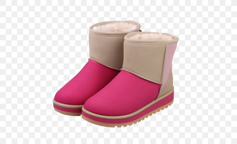 Snow Boot, PNG, 500x500px, Snow Boot, Boot, Footwear, Magenta, Mirror Black Download Free