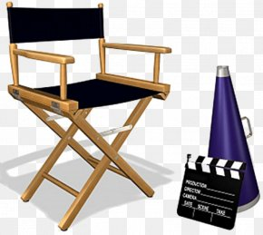 Chair - Director's Chair Film Director Cinema PNG