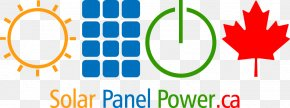 Solar Power Solar Panels Top - Logo Solar Panels Solar Power Solar Energy PNG