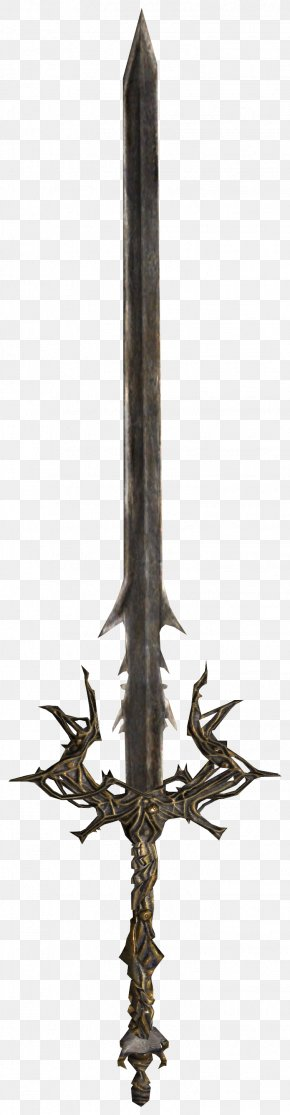 The Elder Scrolls - Claymore Shivering Isles Weapon Sword The Elder Scrolls V: Skyrim PNG