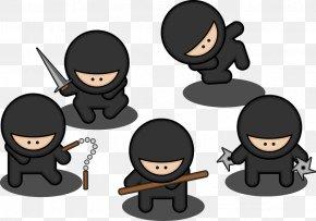 Ninja Villain - Ninja Cartoon PNG