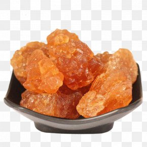 A Plate Of Rock Sugar - Rock Candy Chewing Gum Sugar Crystal PNG