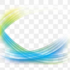 Changeable Blue Curve Lines - Curve Line Blue Euclidean Vector PNG