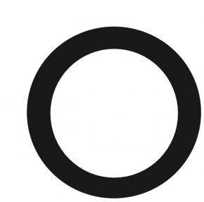 Circle Shape Cliparts - Circle Black And White Clip Art PNG