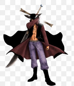 One Piece - Dracule Mihawk Monkey D. Luffy One Piece Character Figurine PNG