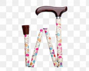 Walking Stick Pink - Pink Walking Stick Font PNG