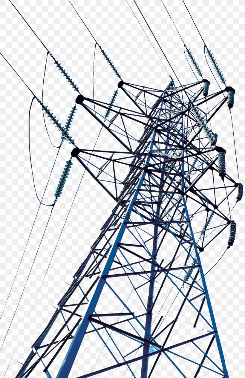 High Voltage Transmission Tower Electric Power Transmission Wire Png 1688x2606px High Voltage Area Black And White