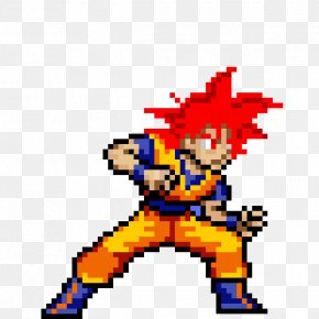 Goku - Goku Gohan Dragon Ball Z: Ultimate Battle 22 Super Saiyan Pixel Art PNG