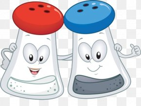 Cartoon Salt And Pepper - Black Pepper Salt And Pepper Shakers Royalty-free Clip Art PNG