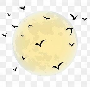 Moon - Halloween Full Moon Clip Art PNG