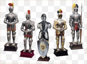 Five Knights - Middle Ages Goudex Body Armor Knight Crusades PNG