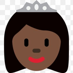 Emoji - Emojipedia Princess Dark Skin Human Skin Color PNG