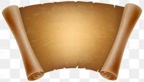 Old Papyrus Decorative Clipart Image - Papyrus Paper Clip Art PNG