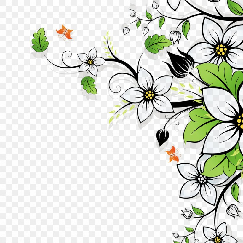 Flower Wallpaper Png 1000x1000px Flower Branch
