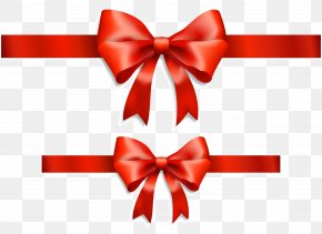 Red Bow - Ribbon Gift Red Royalty-free PNG