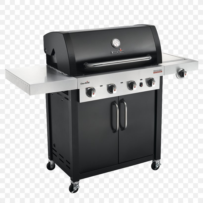 Barbecue Char-Broil Professional Series 463675016 Grilling Char-Broil Signature 4 Burner Gas Grill, PNG, 1000x1000px, Barbecue, Brenner, Charbroil, Charbroil 463722 3burner Grill, Charbroil Gas2coal Hybrid Download Free